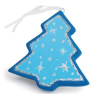 Color-Me™ Ceramic Bisque Tree Ornament (Pack of 24)