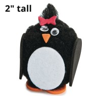Pom Pom Penguins Craft Kit (Pack of 24)