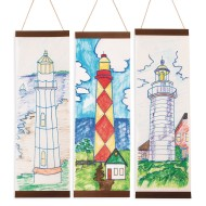 Lighthouse Panels Craft Kit (Pack of 24)