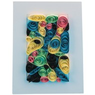Paper Quilling Craft Kit (Pack of 12)
