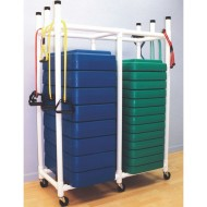 Aerobic Step Storage Rack