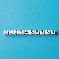 Single Number Beads (Pack of 50)