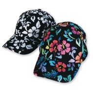 Velvet Art Tropical Baseball Caps (Pack of 12)