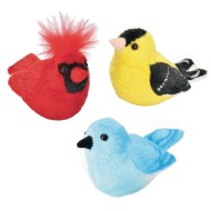 Audible Audubon Plush Bird Set With Sound (Set of 3)