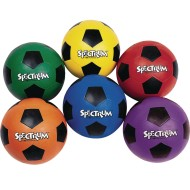 Spectrum™ Rubber Soccer Balls (Set of 6)