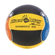 Place 'N Play Rubber Basketball