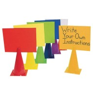 2-in-1 Message Cones,  (Set of 6)