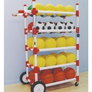 All-Terrain Ball Storage Cart
