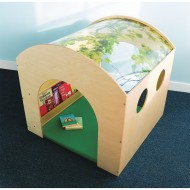 Whitney Brothers® Nature Haven Reading Nook with Floor Mat Set