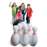 Jumbo Inflatable Bowling Set