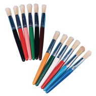 Stubby Paint Brush Pack (Pack of 12)