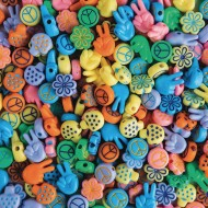 Retro Love Beads 1/2lb Bag