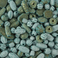 Old World Bead Mix - Turquoise
