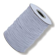 White Elastic Cord, 144 Yards - Heavy