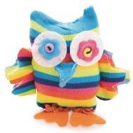 Sock Owl Craft Kit (Pack of 12)