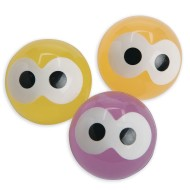 Glow-in-the-Dark Eyes High Bounce Balls (Pack of 12)