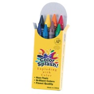 Color Splash!® Jumbo Crayons (Box of 8)