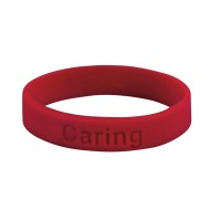 Caring Silicone Bracelet (Pack of 24)