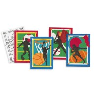 Sand Art Boards - Sports, 5