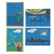 Sand Art Boards - Gone Fish'n, 5