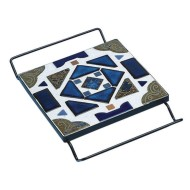 Black Square Cradle Trivet (Pack of 12)