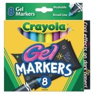 Crayola® Gel FX Markers (Set of 8)