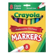 Crayola® Classic Markers (Box of 8)