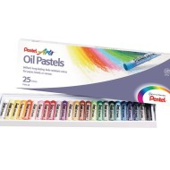 Pentel® Oil Pastel Sets (Box of 25)