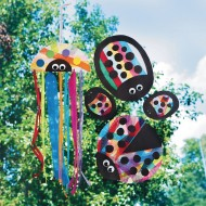 Crafts by Amanda: Rainbow Ladybugs (Pack of 72)