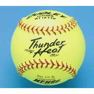 "Dudley® Thunder 12"" NFHS Fast Pitch Leather Softball"