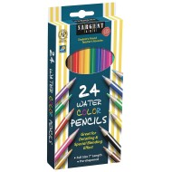 Sargent Art Assorted Color Watercolor Pencils Set