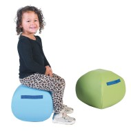 Children's Factory® Alternative Seating Set of 2 Turtle Seats, 12""