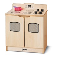 Jonti-Craft® Baltic Birch Toddler Gourmet Play Stove