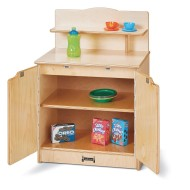 Jonti-Craft® Baltic Birch Toddler Gourmet Play Cupboard