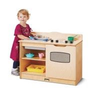 Jonti-Craft® Baltic Birch 2-in-1 Toddler Gourmet Kitchen