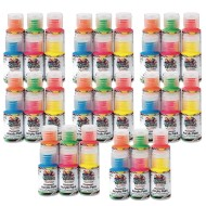 Color Splash!® Neon Acrylic Paint Pass Around Pack, 1 oz. (Pack of 48)
