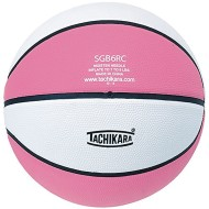 Tachikara® Rubber Basketball, Pink/White