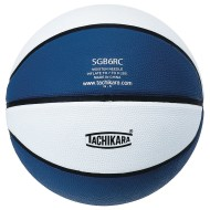 Tachikara® Rubber Basketball, Royal Blue/White