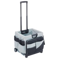 MemoryStor® Universal Rolling Cart with Organizer Bag,