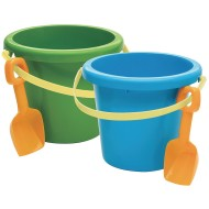 Jumbo Plastic Pail and Shovel, 10