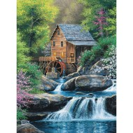 Spring Mill Easy Handling Puzzle, 275 Pieces