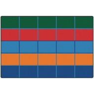Color Blocks Kid$ Value Plus™ Rug 6'x9'