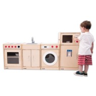 TickiT® 4-Piece Toddler Play Kitchen Set (Set of 4)