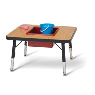 Jonti-Craft® Toddler Adjustable Height Sensory Table