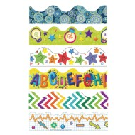 Everyday Bulletin Board Trim Pack (Pack of 6)