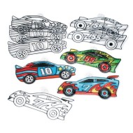 Race Car Sun Catchers (Pack of 12)
