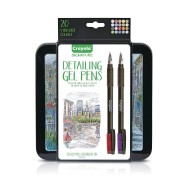 Crayola® Signature™ Detailing Gel Pens (Set of 20)