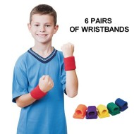 Spectrum™ Elasticized Wristbands (Set of 12)