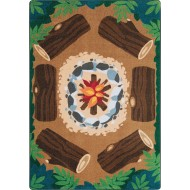 Joy Carpets® Campfire Fun Classroom Rug,