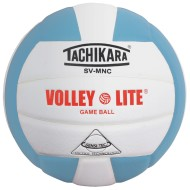 Tachikara® SV-MNC Volley Lite Volleyball, Powder Blue/White